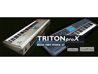 KORG Triton DVD Tutorials - Pro, Studio, Extreme and LE versions