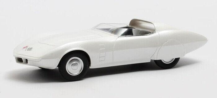 1 43 Matrix 1968 Chevrolet Astrovette Concept White Metallic MX50302061 - $67.66