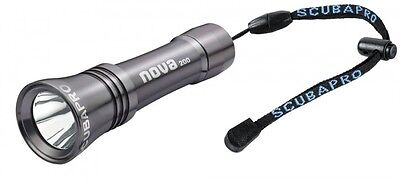 Scubapro Nova Light 200 Backuplampe / Taucherlampe