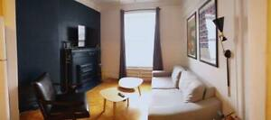 Lease Transfer: 1 room: fully-furnished 61/2 apartment, Downtown