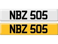 *NDZ 505* Dateless Personalised Cherished Number Plate Audi BMW M3 Ford VW Caddy Mercedes Vauxhall