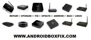 ANDROID BOX TV MYGICA MAG KODI MINIX REPAIR ► SERVICE ► UPGRADE