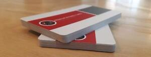 Silk Laminated Business Cards! Starting at $54.00