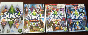 The sims 3 games