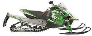 "2013 F800 SNO PRO 129"" Green and Orange (NEW)"