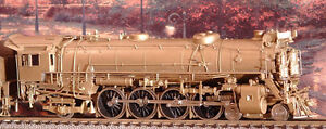 Brass Train: Chesapeake & Ohio 4-8-2, Class J-2 by Custom Brass Kingston Kingston Area image 2