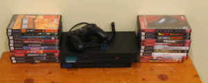 PlayStation 2 with 20 games