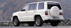 1989 Isuzu Trooper SUV, Crossover