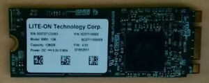 LITE-ON S950 128GB M.2 SATA NGFF 2260 SSD For HP Laptop Notebook