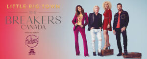 Valentine's Day treat: 2 great tickets for Little Big Town