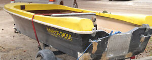 14 Ft Fibreglass fishing Boat