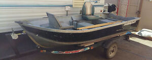 12 Foot Harbercraft boat and trailer for sale