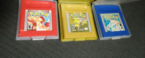 Pokemon Red / Blue / Gold versions