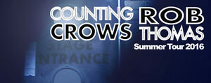 ★ Counting Crows & Rob Thomas★ FRI Aug 26 6:45 PM