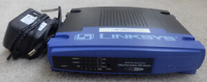 Router Linksys BEFSR41 4-Port 10/100 Wired Router