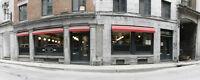 Restaurant clé en main secteur recherché VIEUX MTL avec permis