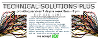 TECHNICAL SOLUTIONS PLUS / PC REPAIR / SETUP / MAINTENANCE
