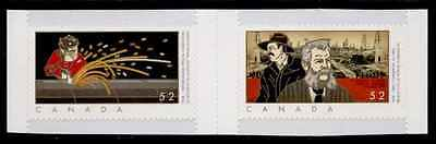 Canada 2268A Gutter Pair Mnh  First Commercial Oilwell  Transcanada Pipeline