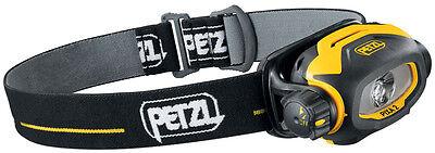 Petzl PIXA 2 robuste Stirnlampe IP 67 Arbeitslampe Ex-Schutz Atex LED Stirnlampe