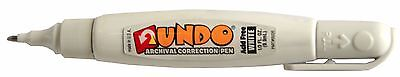 Undo Archival Correction Pen 100 Acid-free Non-toxic Squeeze Action Pen