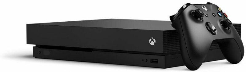 Microsoft Xbox One X 1TB Black Console System 4K