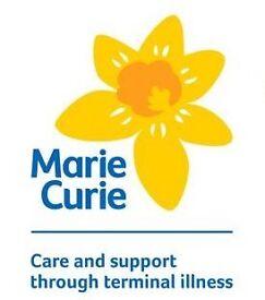 Community Fundraising Volunteer for Marie Curie