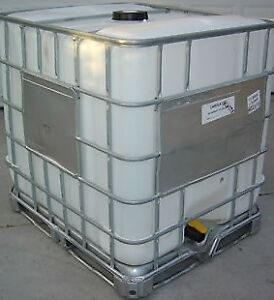 275 Gallon (1,000 Litre) FOOD GRADE WATER TOTES (NEW)