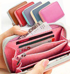Apple iPhone 4S 4 3GS 3 Purse Credit Card Smart Multi Pouch Case Cover