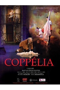 Price dropped: 2 tickets for ballet Coppelia on June 3rd