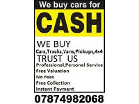 We will buy any car or van BEST price.