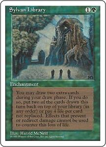 Sylvan Library - Magic the Gathering