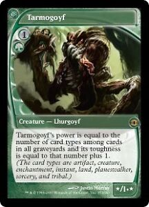 S> MTG: Magic the Gathering, Playset of Future Sight Tarmogoyfs!