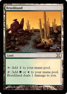 Looking for Magic the Gathering Brushland