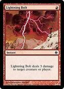 MTG Lightning Bolt Foil