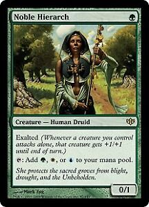 Noble Hierarch , Magic the Gathering at www.topdeckhero.com