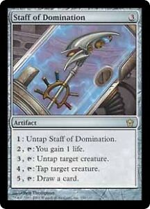 Staff of Domination - Magic the Gathering