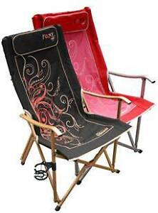 Coleman Foxy Ladies Camping Chairs Croydon Burwood Area Preview