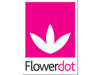 Flower company requires trained and trainee florists Full time and part-time positions available