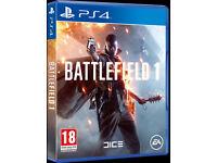 Battlefield 1 PS4 Brand NEW!