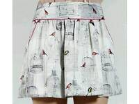 TED BAKER BIRDCAGE SKIRT LIMITED EDITION SIZE 14/16