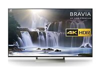 "Brand new Sony Bravia KD55XE8596 55"" Smart 4K HD HDR LED TV"