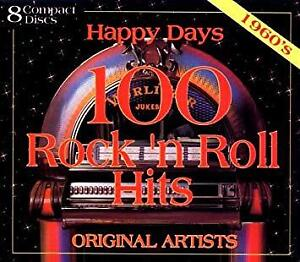 CD Rock and Roll Hits Happy Days des années 60, 8 CD