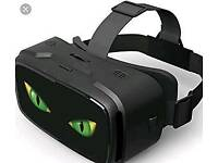Virtual reality transform headset