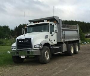 2014 Mack Granite Dump Truck with only 61500 kms