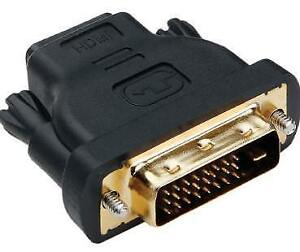 DVI-D Male to HDMI Female Video Adapter.