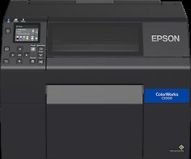 "Label printer Epson Colourwork 6500AE 8"" with auto cutter"