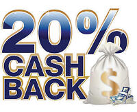 Save 20% on the purchases you make everyday