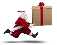 CHRISTMAS DELIVERY SERVICE TO EDMONTON AND CALGARY