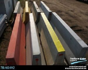 Jersey Barriers – Mini & Large | Surface Flow Control supplies
