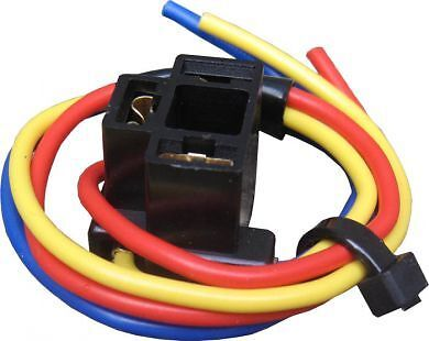 2 x H4 472 BULB HOLDER (3 PIN) HEADLAMP HEADLIGHT CONNECTOR ADAPTOR WIRE CABLE